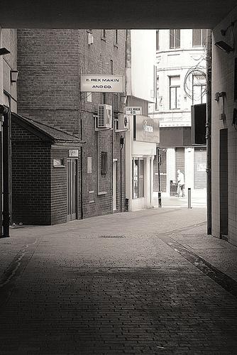 Δρομάκι στο κ�ντρο του Liverpool