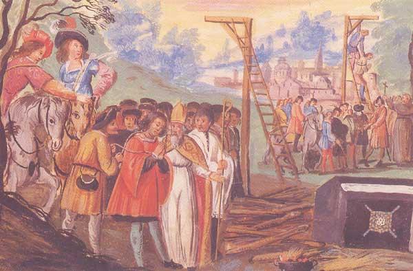 Η εκτ�λεση του Gilles de Rais