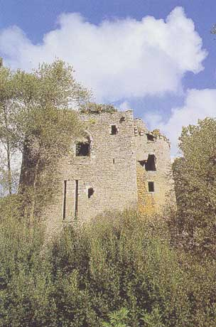 Το κάστρο του Machecoul σήμερα.