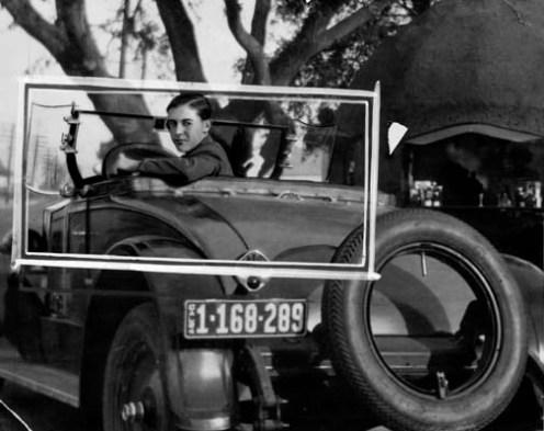 Ο Gordon στο αυτοκίνητό του