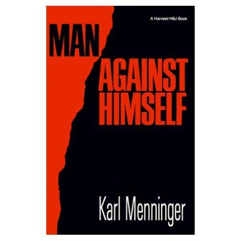 man-against