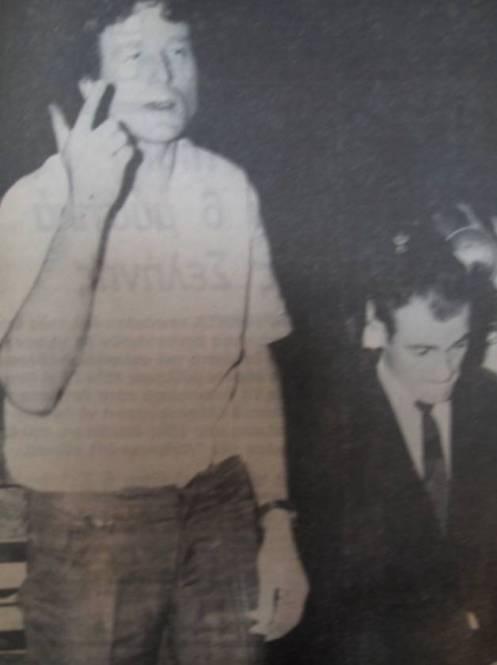 Ο Χέρμαν Ντουφτ (αριστερά) και ο Χανς Μπασενάουερ