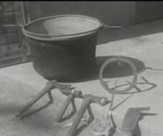 Εργαλεία και σκεύος, στο Εγκληματολογικό Μουσείο της Ρώμης