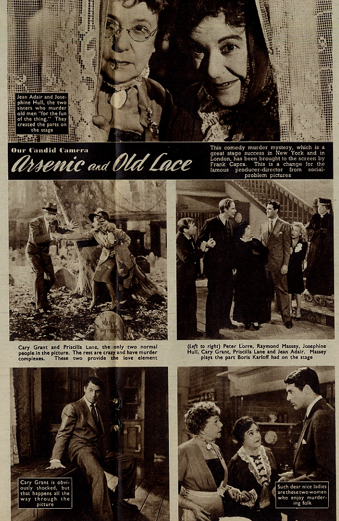 """arsenic and old lace review Playwright joseph kesserling first dreamed up his play """"arsenic and old lace"""" back in 1939 it was originally conceived as a dark drama based on the true story of a woman by the name of amy archer-gilligan, who took in boarders and."""