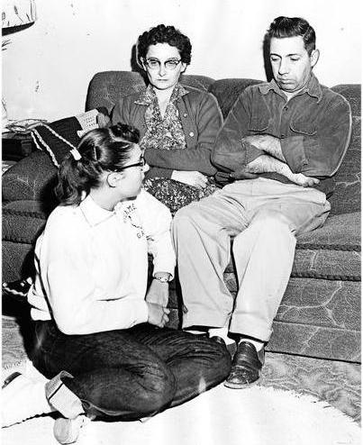Patricia, Frances & Michael Ridulph