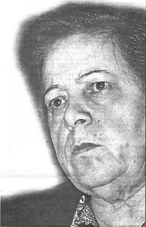 Η Μαρία Σαμπανιώτη.