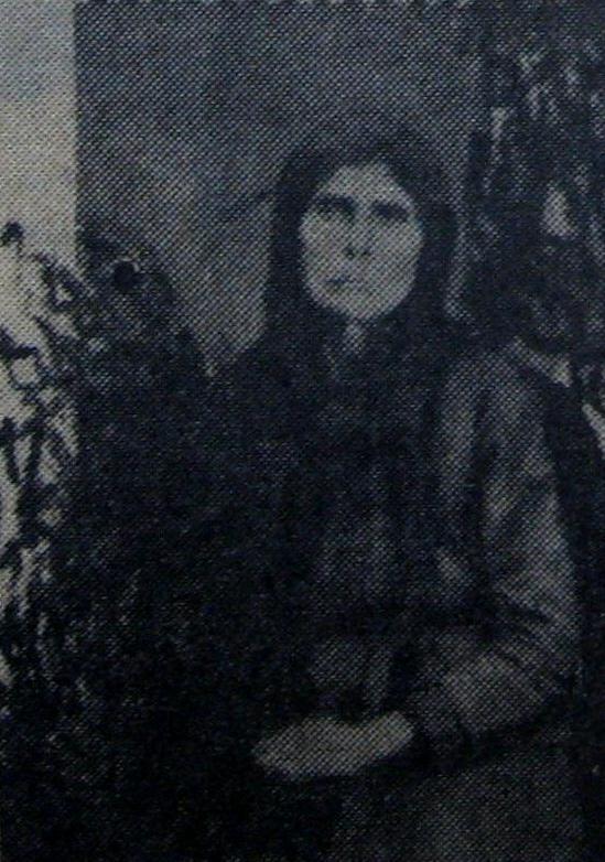 Το πρώτο θύμα της Δημητρέα, η μητέρα της Στεφούλα Λουκαρέα.