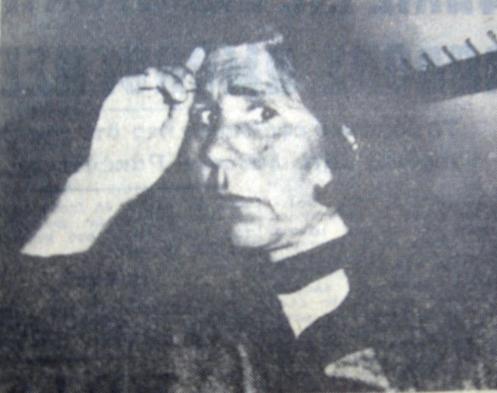 Η Αικατερίνη Δημητρέα, λίγα λεπτά μετά την ανακοίνωση της καταδικαστικής απόφασης του Κακουργιοδικείου Ναυπλίου.