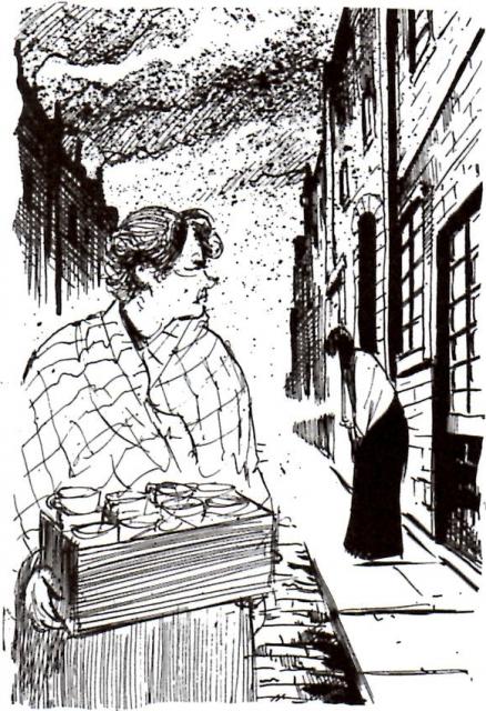 Σκίτσο της Caroline Maxwell