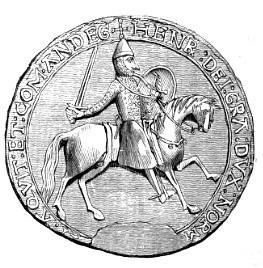 Η μεγάλη σφραγίδα του Ερρίκου Β΄
