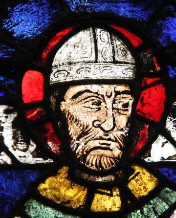 Θωμάς Μπέκετ, υαλογράφημα, Καθεδρικός του Κάντερμπρυ