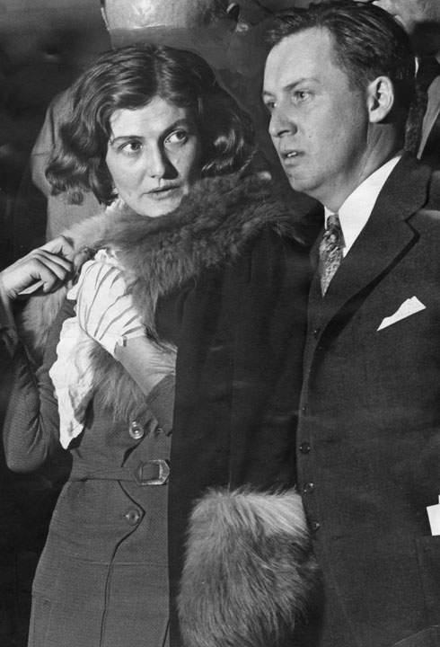 H Winnie με τον δικηγόρο της Dick Cantillon