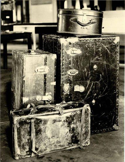 Οι αποσκευές της φρίκης...
