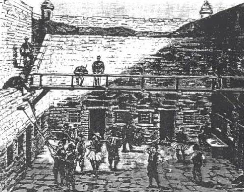 18 Οκτωβρίου 1890, σκίτσο από «Τα εικονογραφημένα νέα του Λονδίνου»
