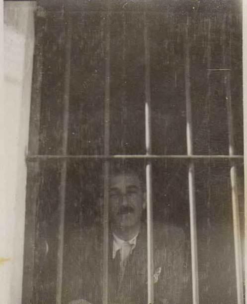 Φυλακές Ακροναυπλίας 1935. Κωνσταντίνος Παπαδογιάννης.