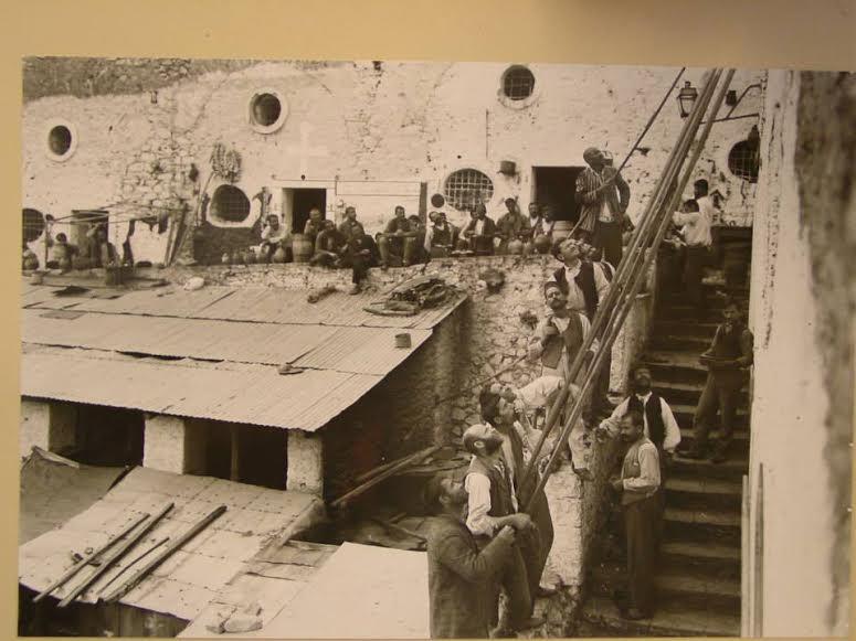 Φυλακές του Παλαμηδίου, προμαχώνας Αγ Ανδρέα, για αυτούς που δεν είχαν βαριές ποινές