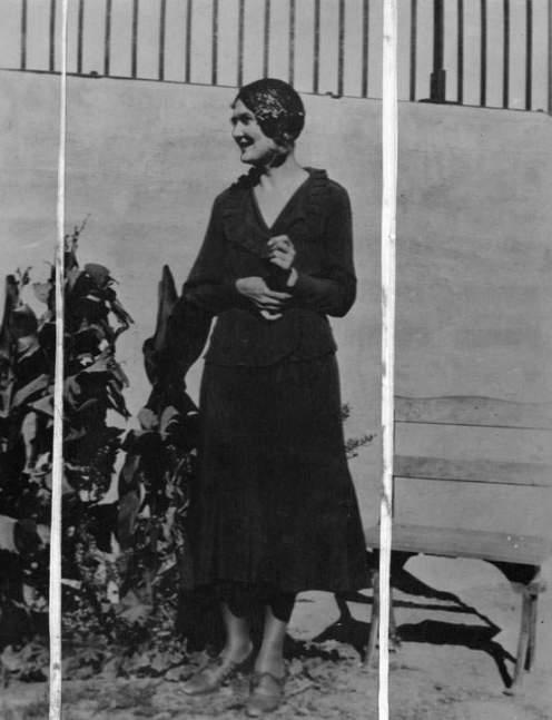 Η Winnie στον κήπο της φυλακής