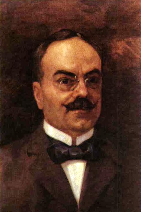 Ο Ανδρέας Καβαφάκης, σε πίνακα του Γ. Ροϊλού (Λέσχη Φιλελευθέρων).