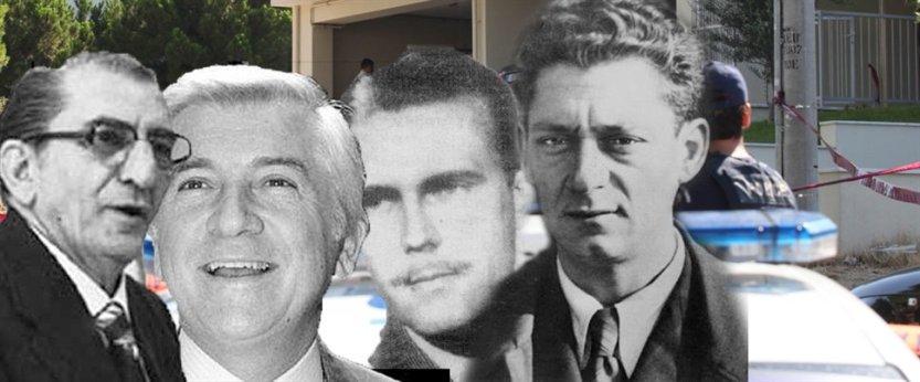 Από αριστερά οι Τζ. Αθανασιάδης, Π. Μπακογιάννης, Τζ. Πολκ και Κ. Βιδάλης (από το pressingnewsgr.blogspot.gr).