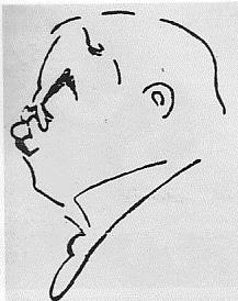Σκίτσο του Ανδ. Καβαφάκη (από τη Μεγάλη Ελληνική Εγκυκλοπαίδεια «Πυρσός», τόμος ΙΓ').