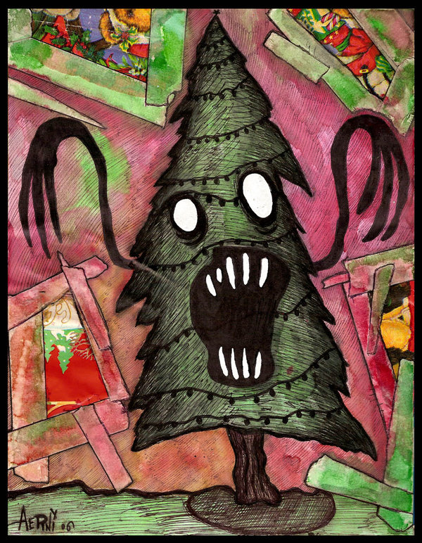 Scary_Christmas_Tree_by_justinaerni