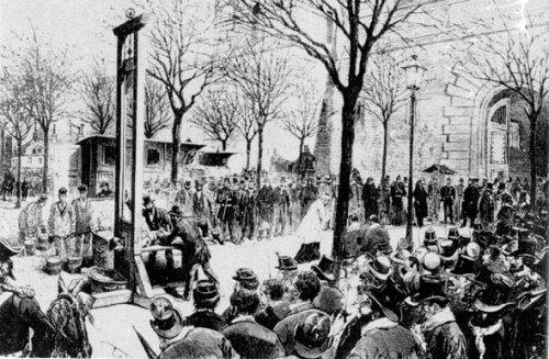 Εκτέλεση στο Παρίσι (Place de la Roquette), 1857.