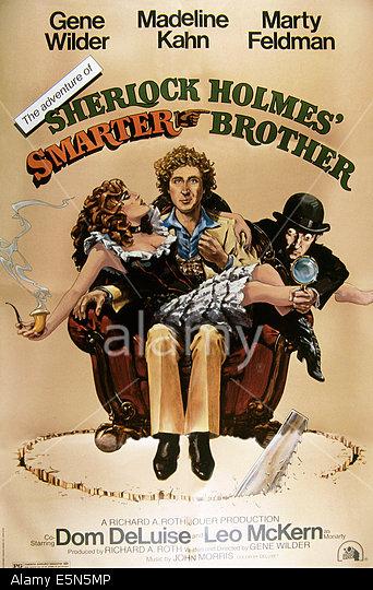 THE ADVENTURE OF SHERLOCK HOLMES' SMARTER BROTHER, from left: Madeline Kahn, Gene Wilder, Marty Feldman, 1975, TM & Copyright ©