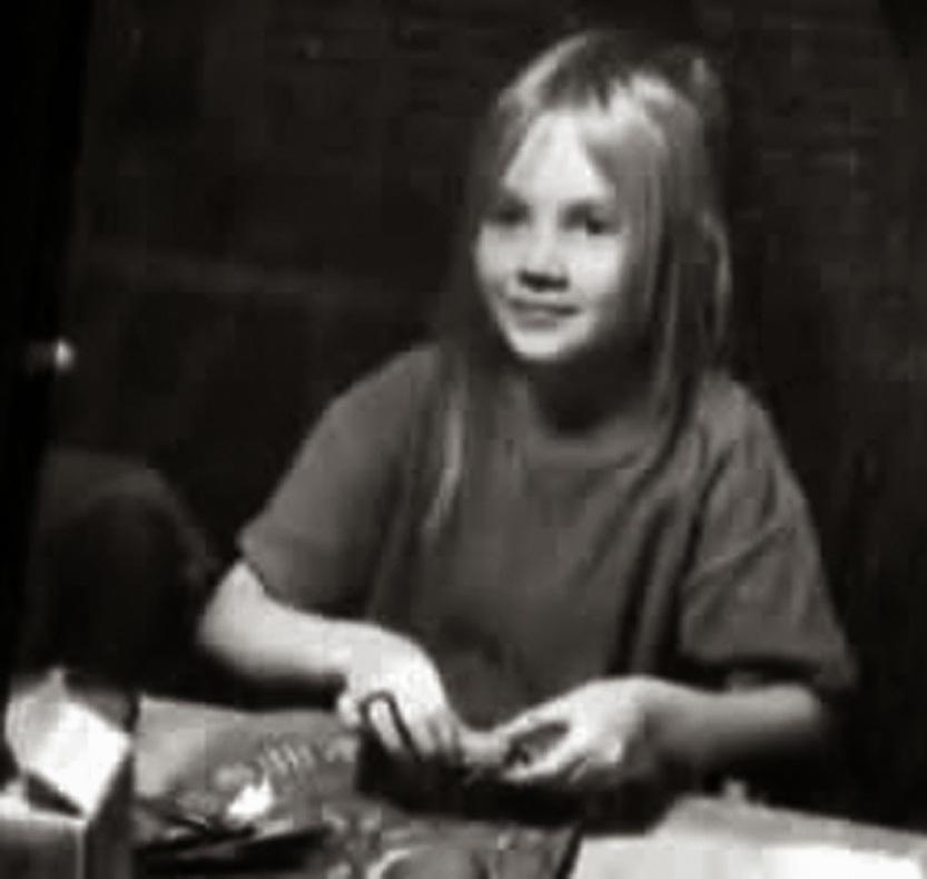 H Brenda σε μικρή ηλικία