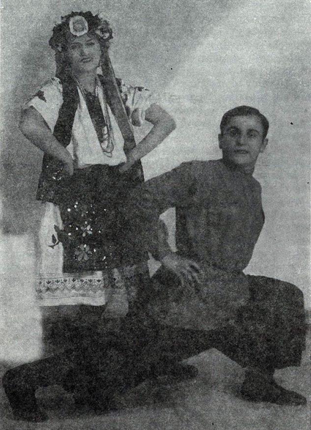 Την εποχή που εργαζόταν ως χορεύτρια. Καλαμάτα.