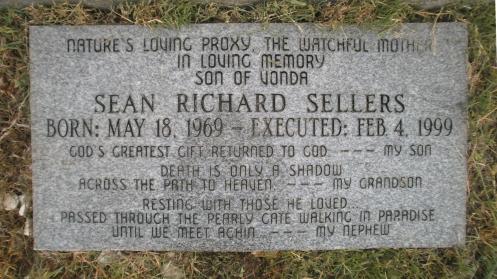 Ο τάφος του Sean Sellers