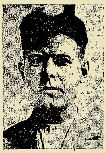Ο δασοκόμος Παναγιώτης Μαρίνος όπως απεικονιζόταν στην υπηρεσιακή του ταυτότητα.