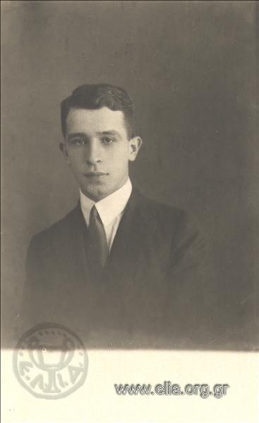 Ο Λάμπρος Ευταξίας, το 1924. Φωτογραφία από Ε.Λ.Ι.Α.