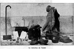 Τα ρούχα και τα προσωπικά αντικείμενα του Vacher
