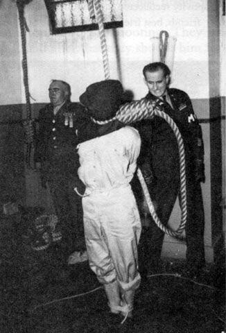 Η εκτέλεση της de Melker