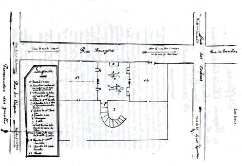 Το σχεδιάγραμμα της σκηνής του εγκλήματος