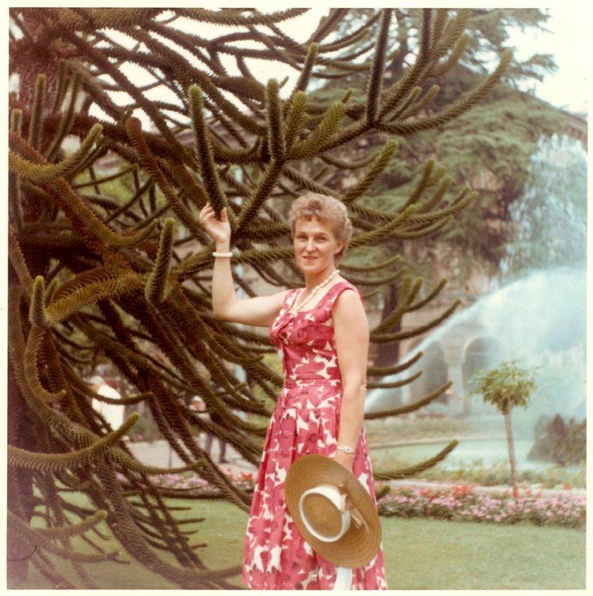 H Hermina Braunsteiner στο Lugano της Ελβετίας, το 1962