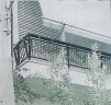 Το μπαλκόνι του σπιτιού της οικογένειας Σπυριδάκη
