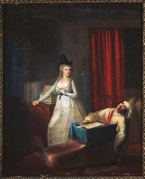 Ζαν Ζακ Χάουερ, Ο Θάνατος του Μαρά, 1864