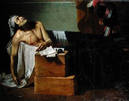 Ζοζέφ Ροκ, Ο θάνατος του Μαρά, 1793