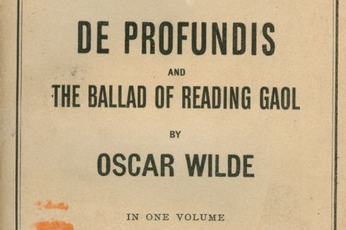 De Profundis & Μπαλάντα της Φυλακής του Reading