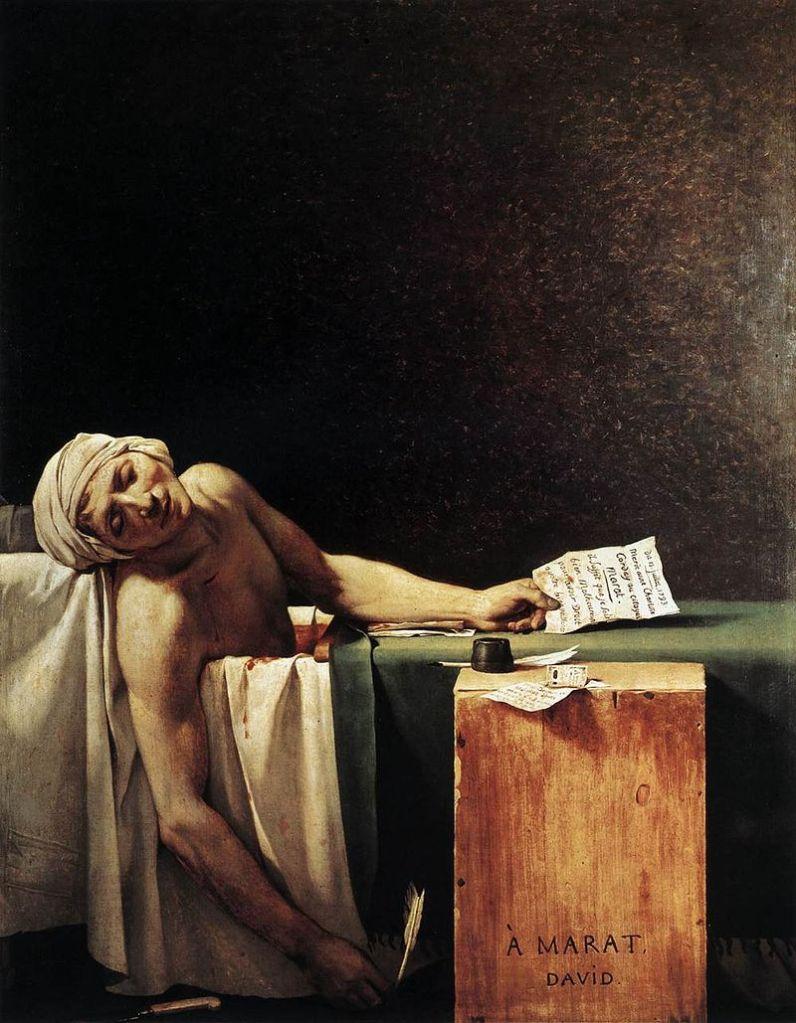 Ζακ Λουί Νταβίντ, Ο Θάνατος του Μαρά - 1793