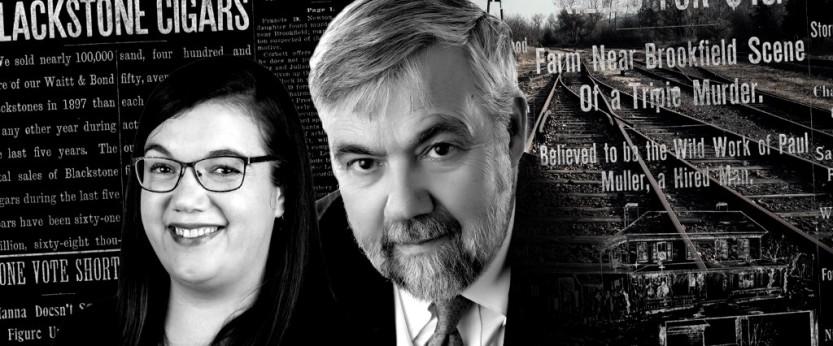 Ο Bill James και η κόρη του Rachel McCarthy James