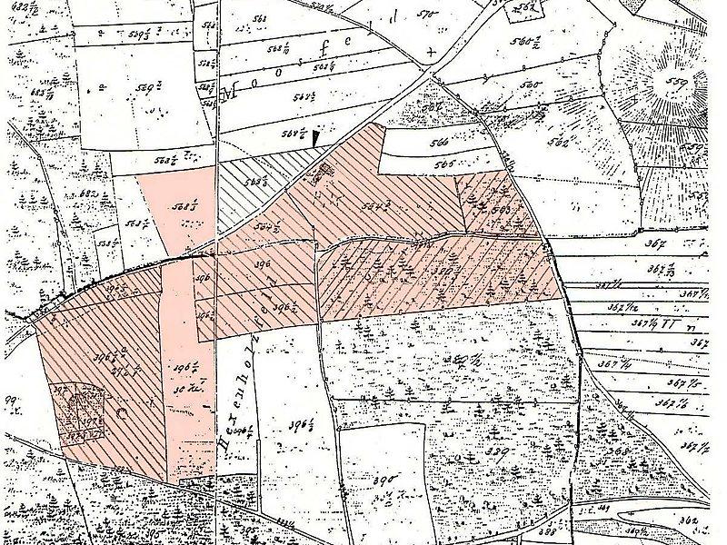 Το kaifeck σε χάρτη της εποχής
