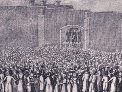 5. The public execution of William Corder